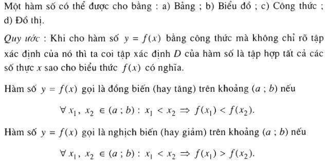 ôn tập toán 10 hàm số bậc nhất, bậc 2